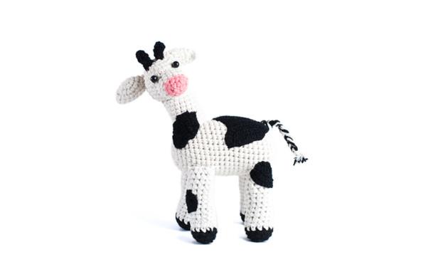 Łaciata krowa