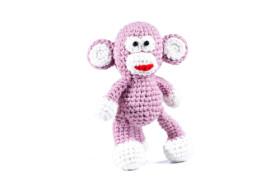 Różowa małpka