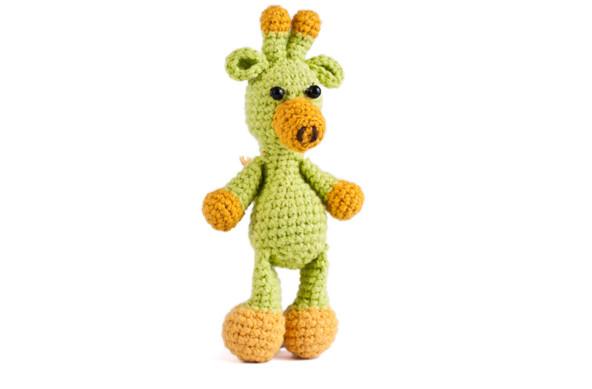 Zielona żyrafka