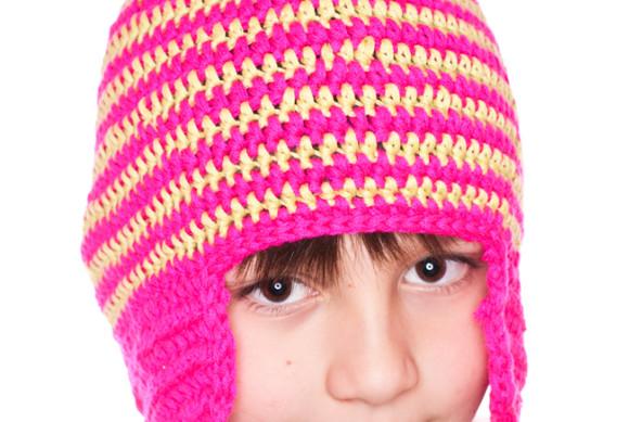 Fluorescencyjna czapka